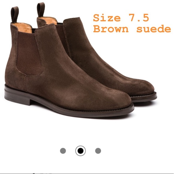 Church's Brown Suede Chelsea Boots 7.5